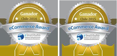 eCommerce award Chile 2014-2015